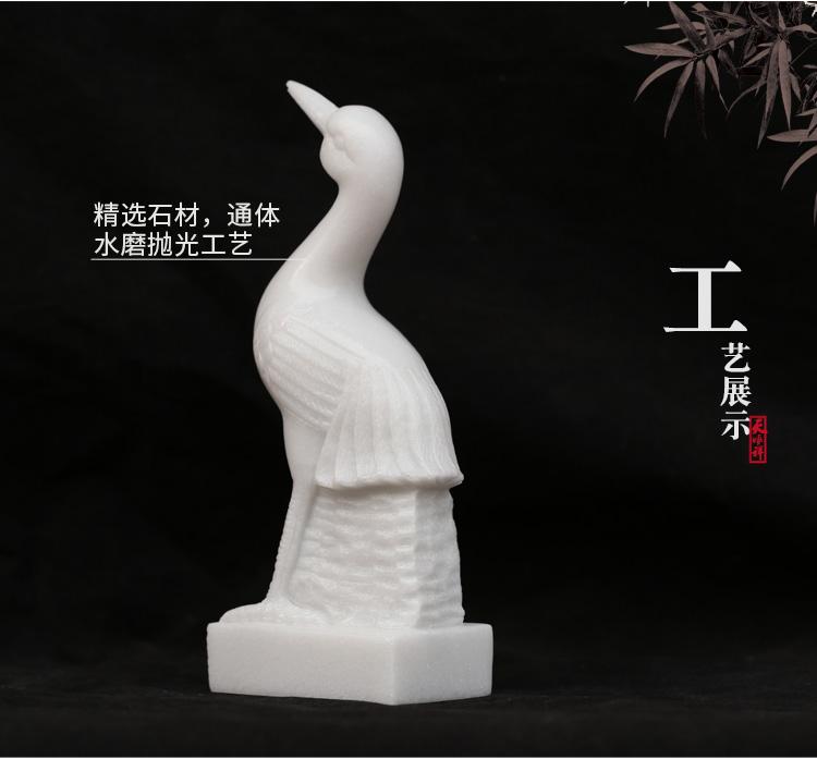 川玉仙鹤工艺展示