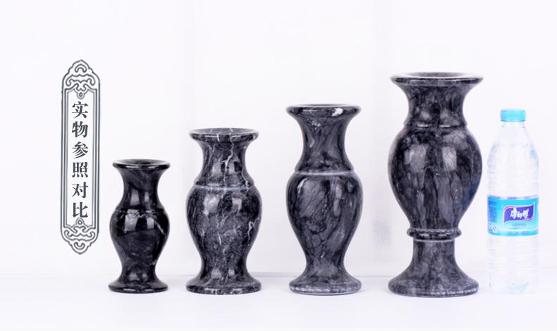 海浪花花瓶实物参照对比