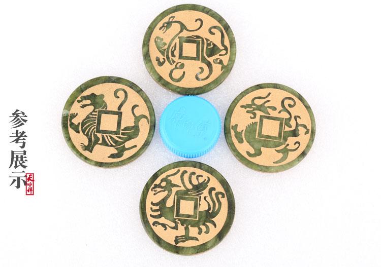 四神兽玉石实物对比参照