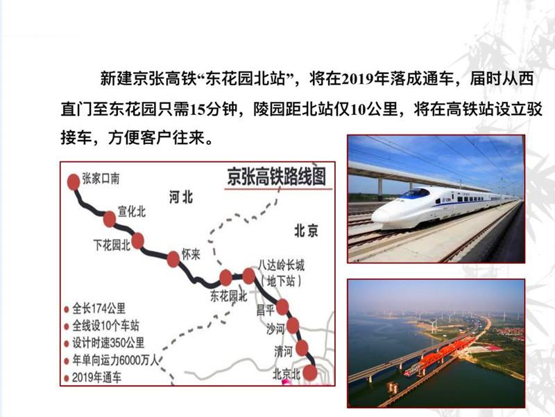 中华永久陵园路线图