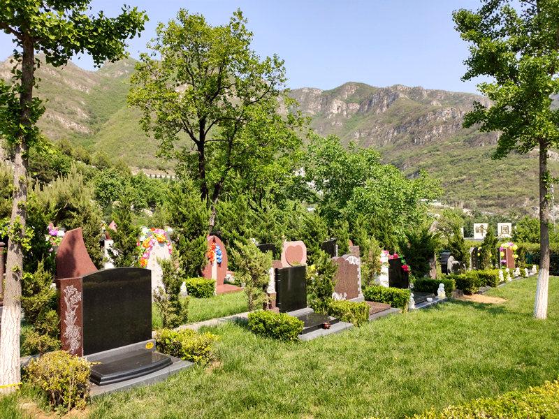 桃峰陵园墓地环境