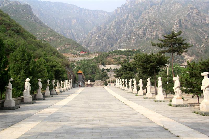 珍珠源公墓环境