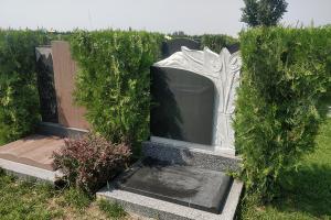 艺术墓碑展示