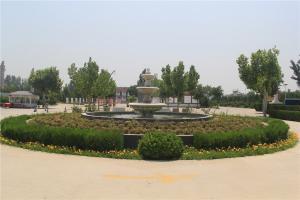 公墓水系景观