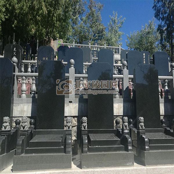 标准墓区青石碑
