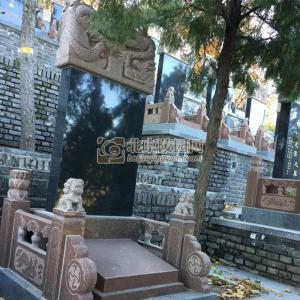 标准墓区双龙碑