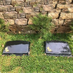 功泽园树葬生态卧碑(黑)