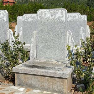 标准墓区立碑