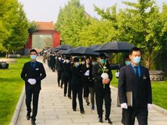 """北京昌平第三届""""公益节地生态葬集体追思仪式""""在天寿陵园举行"""