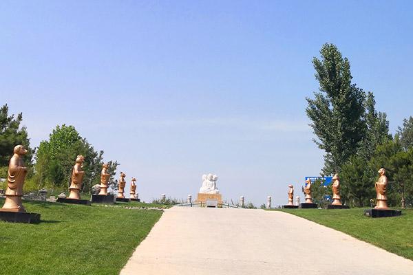 涿州人生故事园-京西南墓地