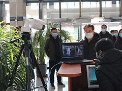 顺义区委社会工委区民政局领导前往潮白陵园检查疫情防控安全工作