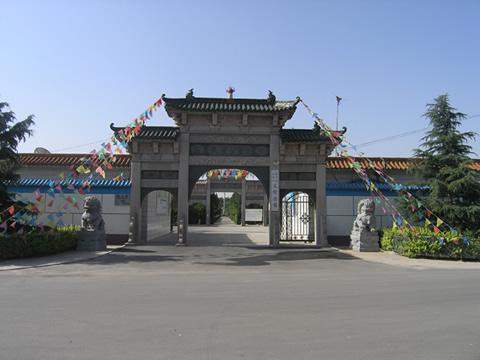 天堂公墓正门