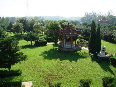 北京市朝阳陵园夏日景色-1