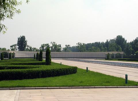 北京市长青园骨灰林基地园内景色-1