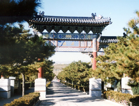 八宝山人民公墓主要通道