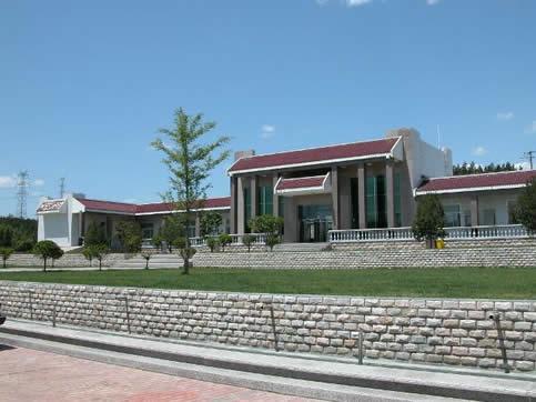 太子峪陵园业务大厅远景