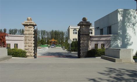 天慈墓园大门