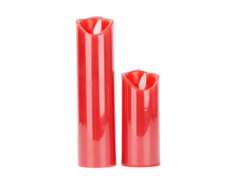 电子红色蜡烛