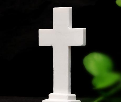 汉白玉十字架