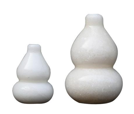 天然汉白玉葫芦