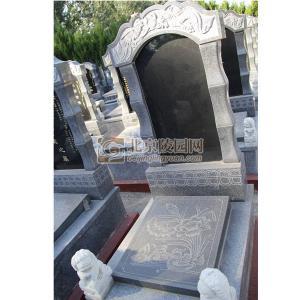 标准墓区福禄鸳鸯碑