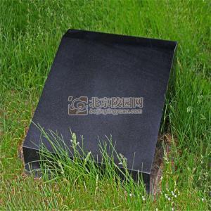 标准墓区纯净卧碑