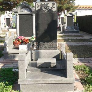 标准墓区崇德碑