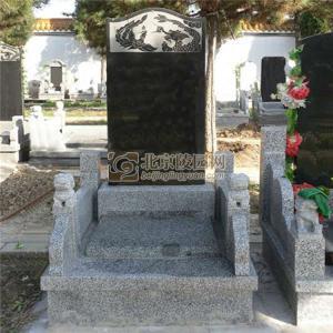 标准墓区龙凤碑