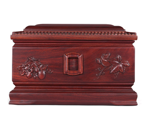 福寿阁紫檀木骨灰盒