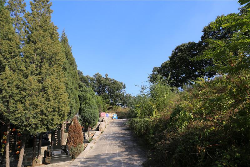 宝云岭墓园景观