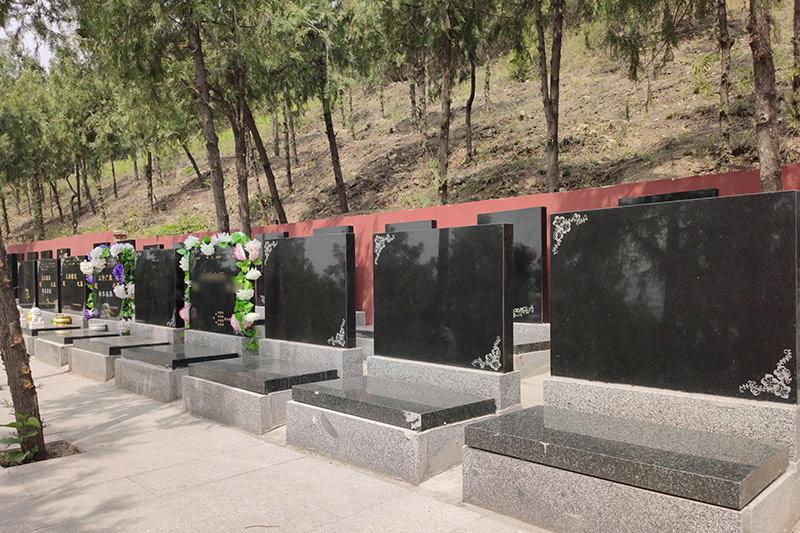 九里山公墓二区墓区环境