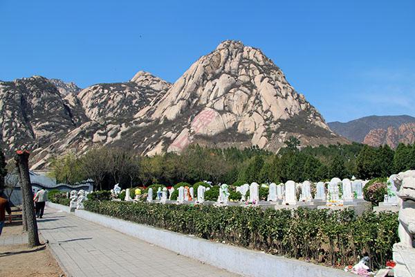 北京市昌平区佛山陵园景观