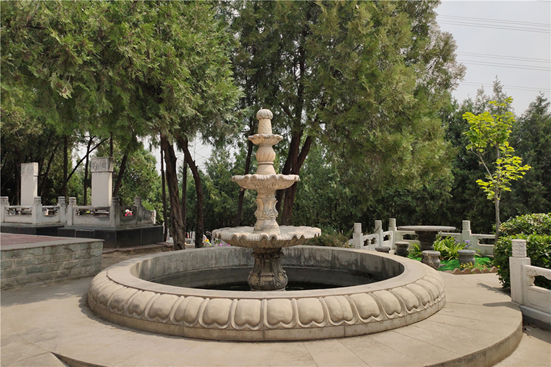 昌平区九里山公墓二区水系景观