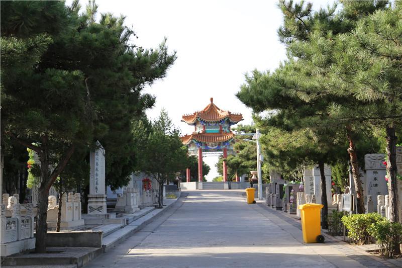 太子峪陵园墓区环境