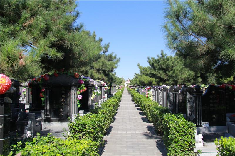 北京潮白陵园墓区景观