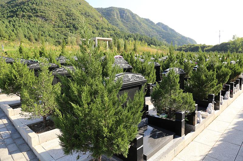 景仰园墓地景观