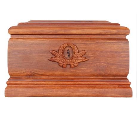 思念刺猬紫檀骨灰盒
