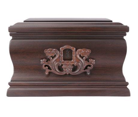 怀念黑紫檀骨灰盒