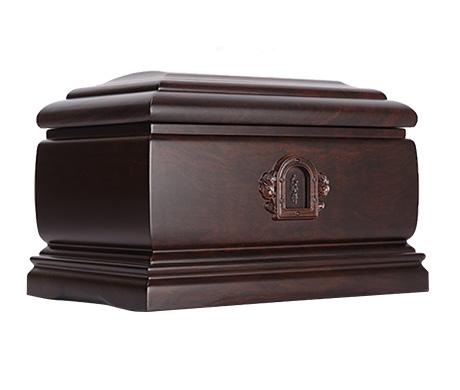 回归自然(小)黑紫檀骨灰盒