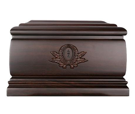 思念黑紫檀骨灰盒