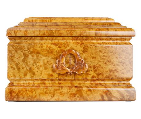 缅怀黄金樟骨灰盒