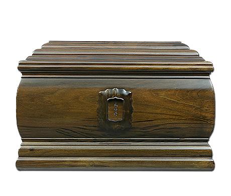 福寿连绵金丝楠阴沉木骨灰盒