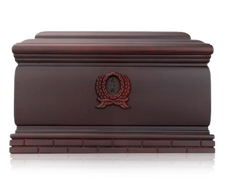 纪念堂(单人)紫檀木骨灰盒