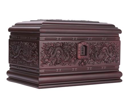 龙宫紫檀木骨灰盒