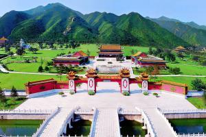 天寿陵园全景图