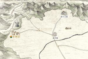 天寿陵园区位图