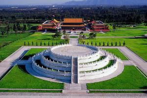 天寿陵园中轴线
