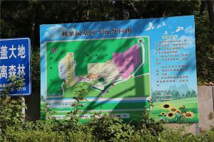 陵园平面图