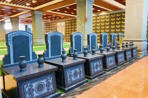 玉佛寺寝宫室内立碑